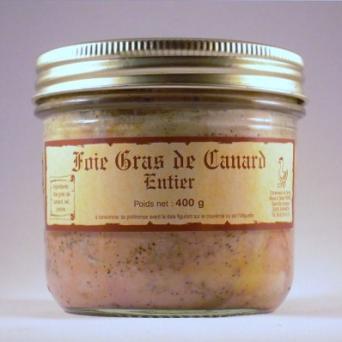 Foie Gras de canard entier 400 g